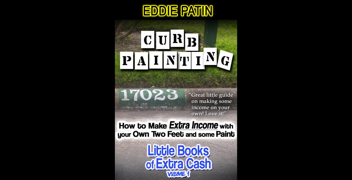 Curb Painting for Spare Income - Little Books of Extra Cash